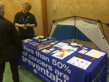 Trade Show - BC Cancer Agency Prevention Programs.